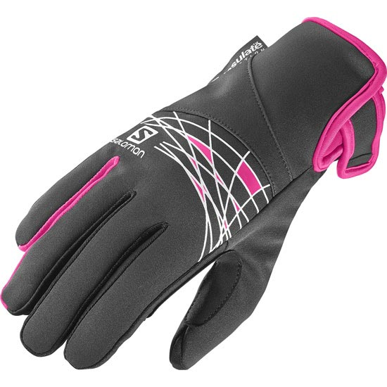 Salomon Thermo Glove W - Black/Pink