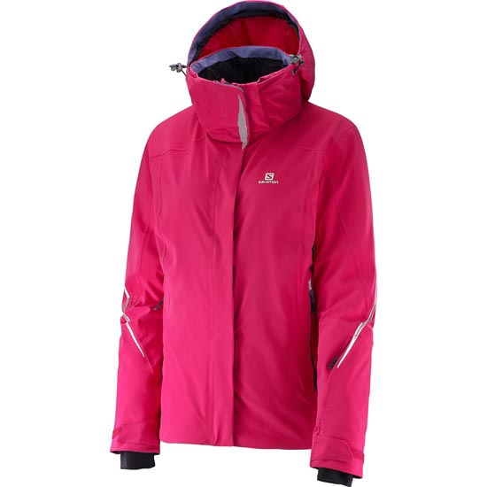 Salomon Brilliant Jacket W - Gaura Pink