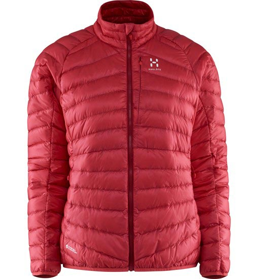 Haglöfs Essens III Down Jacket W - Carmelia/Real Red