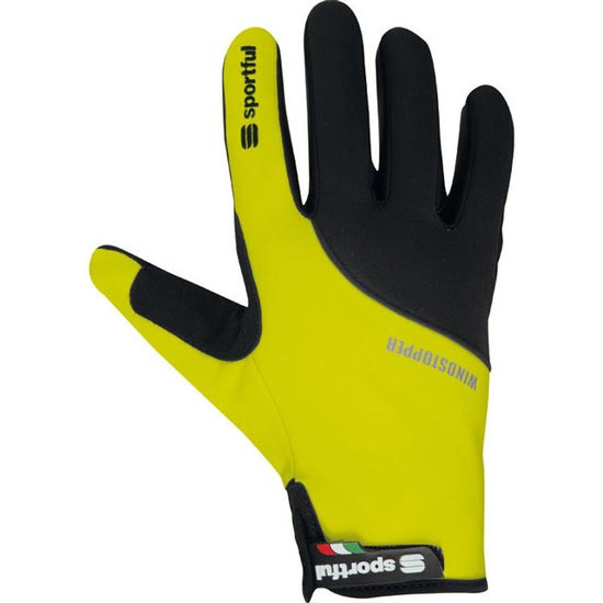 Sportful Essential Glove W - Yellow/Black