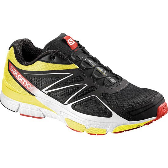Salomon X-Scream 3D - Black/Corona/Yellow