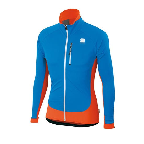Sportful Cardio Wind Top - Azul/Naranja