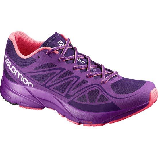 Salomon Sonic Aero W - Cosmic Purple/Azalee Pink