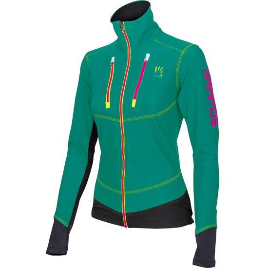 Karpos Alagna Jacket W - Verde/Negro