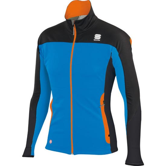 Sportful Squadra Corse 2 Jacket - Azul/Naranja