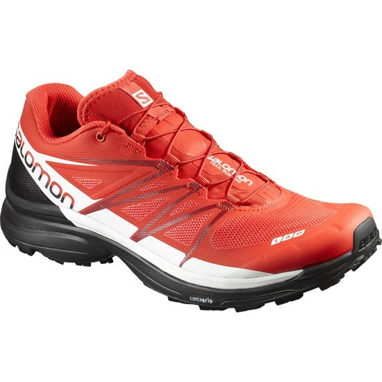 Salomon S-Lab Wings 8 - Rouge/Noir/Blanc