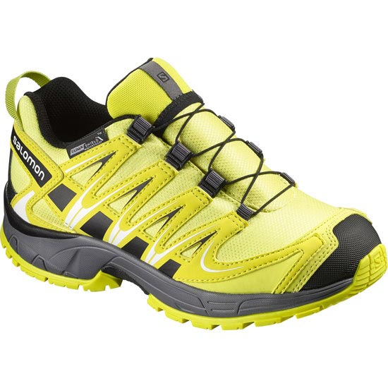 Salomon XA Pro 3D CSWP Jr - Yellow/Alpha Yellow