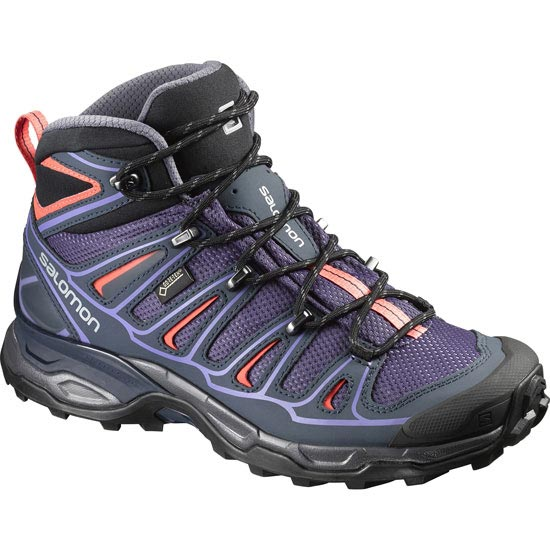 Salomon X Ultra Mid 2 GTX W - Nightshade/Grey