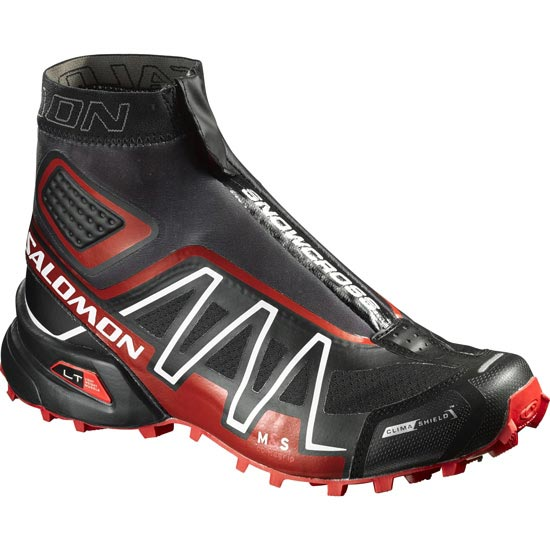 Salomon Snowcross CS - Black/Radiant Red