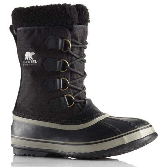 Sorel 1964 Pac Nylon - Black/Tusk