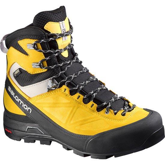 Salomon X Alp Mtn Gtx - Black/Yellow