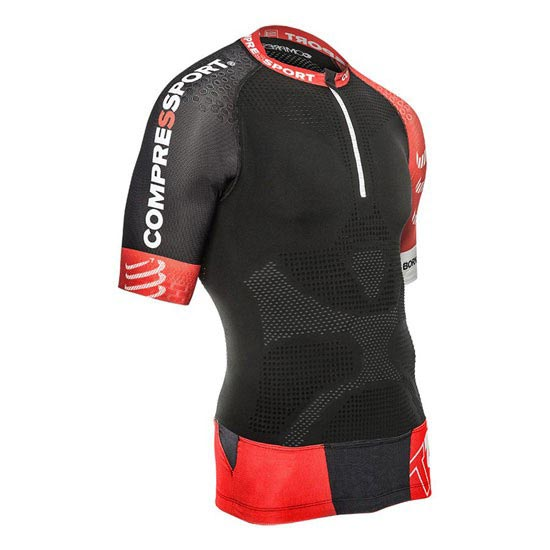 Compressport Trail Running Shirt V2 SS - Black