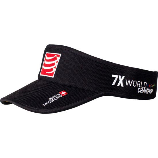 Compressport Visor Cap - Noir