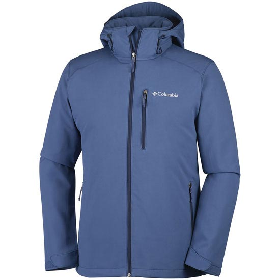 Columbia Gate Racer Softshell - Night Tide