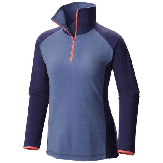 Columbia Glacial Fleece III 1/2 Zip W - Bluebell/Nightshade