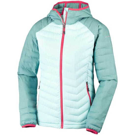 Columbia Powder Lite Hooded W - Spray/Dusty Green