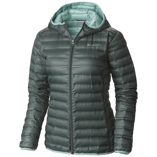 Columbia Flash Forward Hooded Down W - Pond/Spray