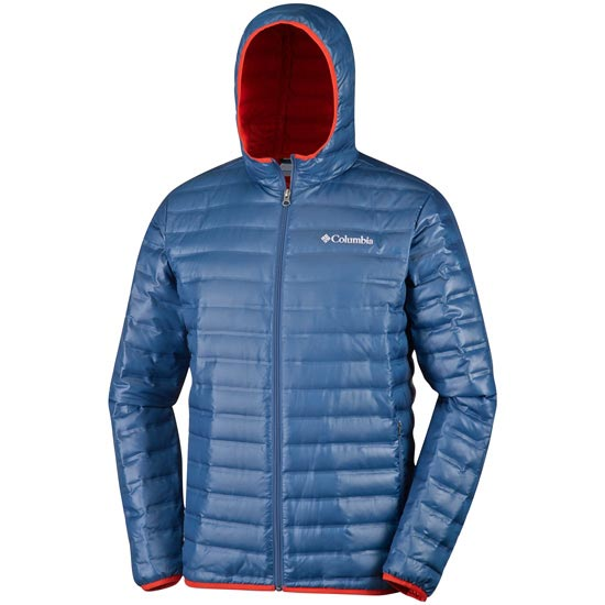 Columbia Flash Forward Down Hooded - Night Tide