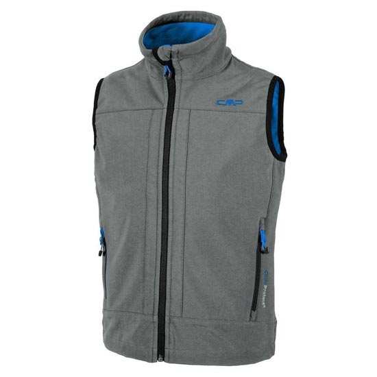 Campagnolo Softshell Vest Boy - Graffite/River
