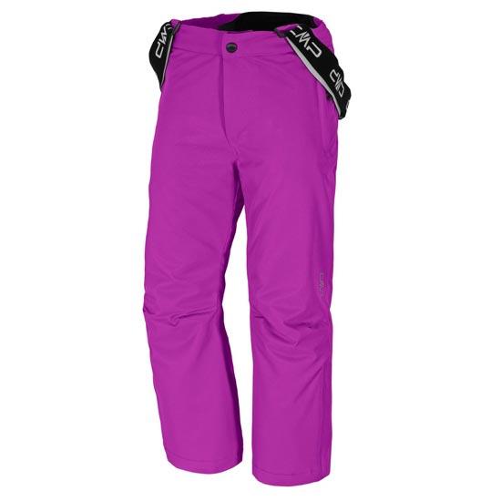 Campagnolo Ski Salopette Jr - Hot Pink
