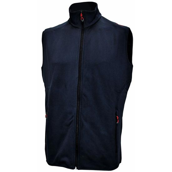 Campagnolo Fleece Vest - Black
