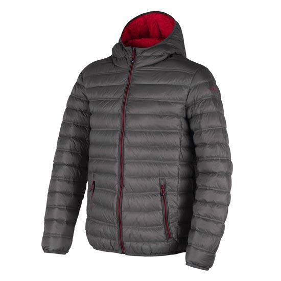 Campagnolo Jacket Fix Hood - Asphalt/Ferrari