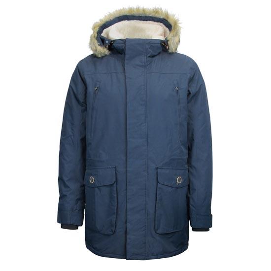 Campagnolo Parka Zip Hood Jacket - Antracite