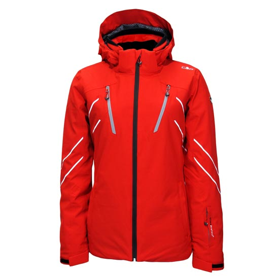 Campagnolo Stretch Zip Hood Jacket W - Ferrari