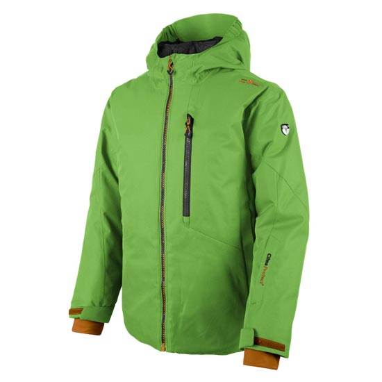 Campagnolo Snaps Hood Jacket Boy - Lime Green