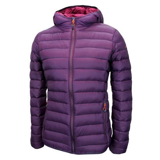 Campagnolo Fix Hood Down Jacket W - Purple Berry
