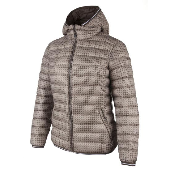 Campagnolo Zip Hood Jacket W - Sand