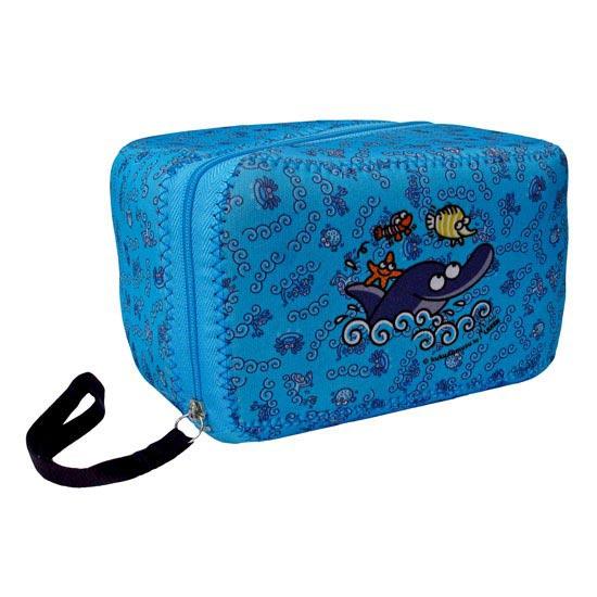 Laken Lunch Box 0.6L Delfin+Neo Cover -