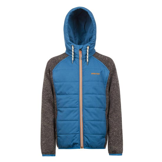 Protest Aeron Full Zip Hoody Jr - Imperial Blue