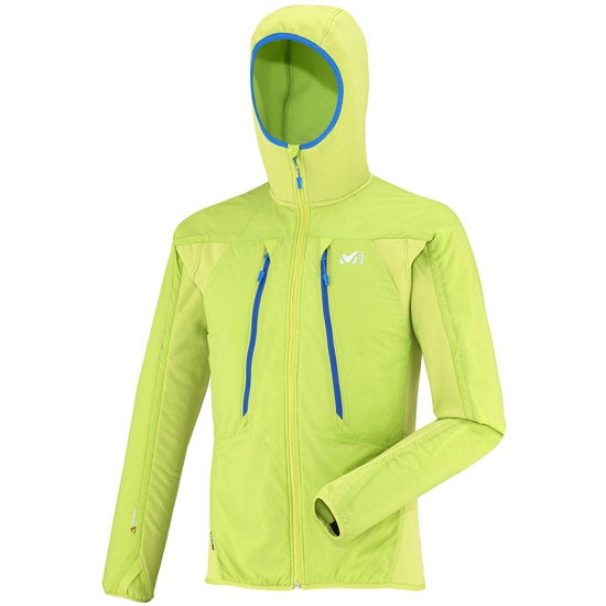 Millet Touring Alpha Compo Hoodie - Acid Green