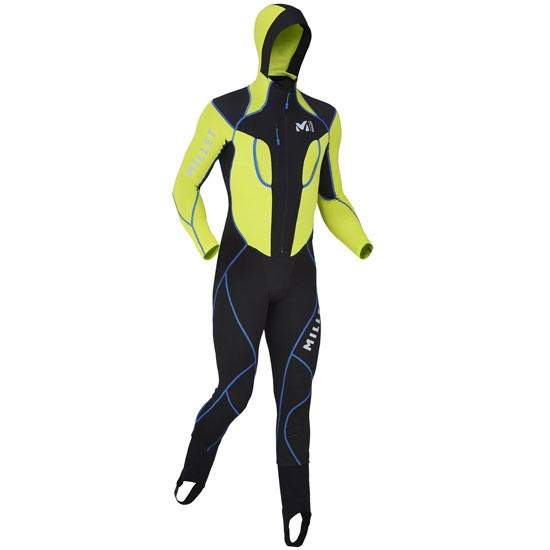 Millet Pierra Ment Suit - Noir/Acid Green