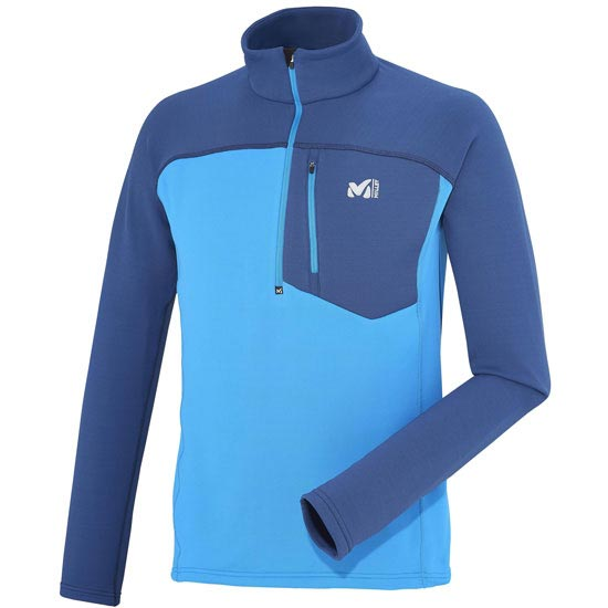 Millet Technostrectch Zip - Electric Blue