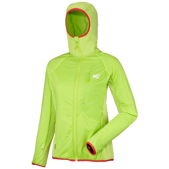 Millet Touring Alpha Compo Hoodie W - Acid Green