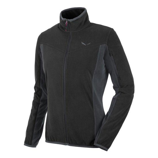 Salewa Puez Plose 3 PL Full-Zip W - Black Out