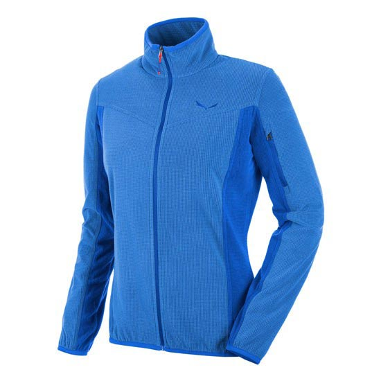 Salewa Puez Plose 3 PL Full-Zip W - Royal Blue