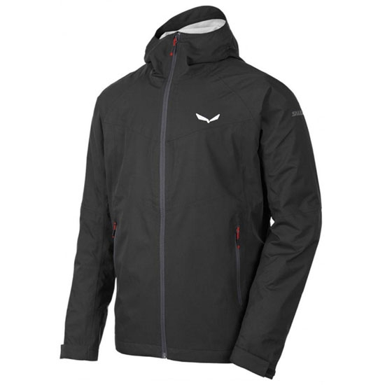 Salewa Puez (AQUA 3) Powertex Jacket - Black