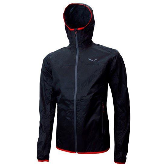 Salewa Braies Rtc M Jacket - Black Out/Rojo