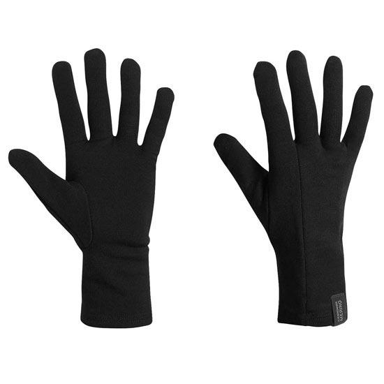 Icebreaker Apex Liners Glove - Negro