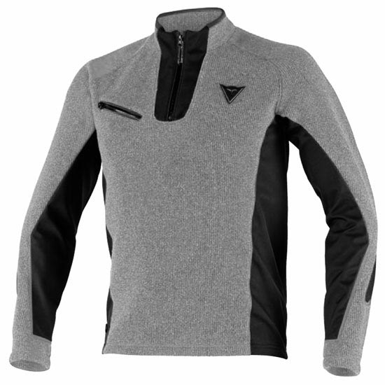 Dainese Aries Sweater - Steel Gray/Black