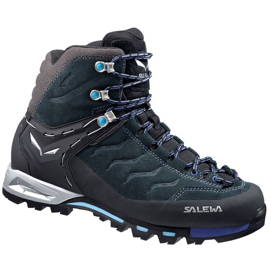 Salewa Mountain Trainer Mid GTX W - Carbon/River Blue
