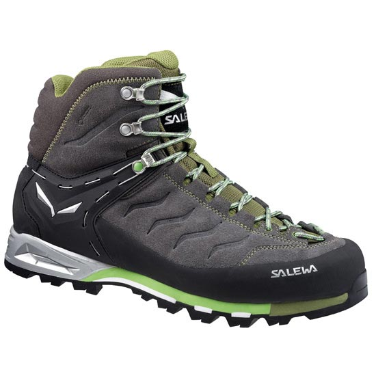 Salewa Mountain Trainer Mid GTX - Pewter/Emerald