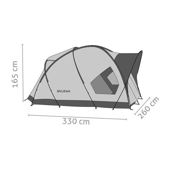 Salewa Alpine Hut IV - Photo de détail