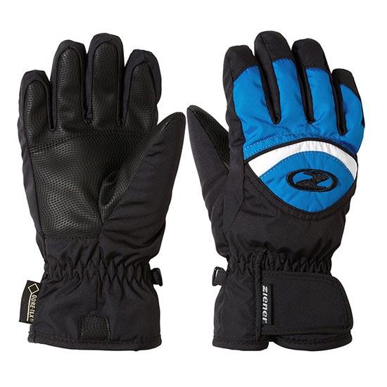 Ziener Largo GTX Jr - Black/Persian Blue