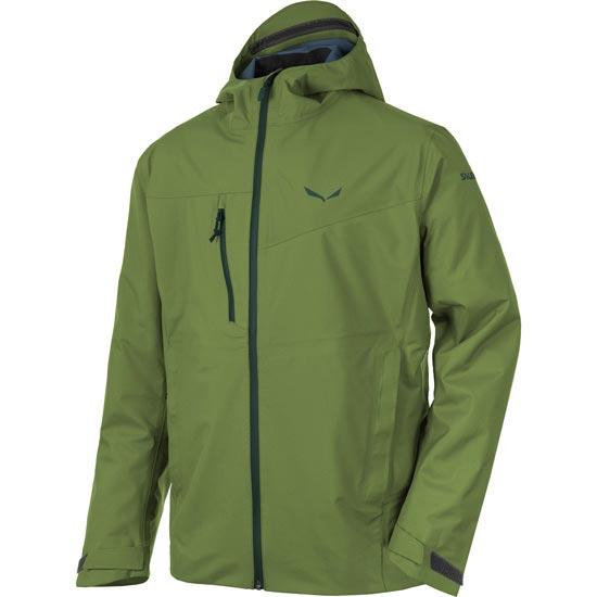 Salewa Puez Powertex 3L Jacket - Cedar Green