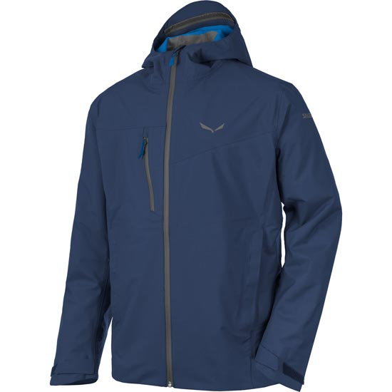 Salewa Puez Powertex 3L Jacket - Dark Denim