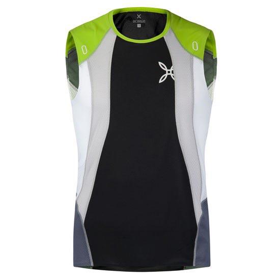 Montura Run Race Canotta - Verde/Blanco/Negro